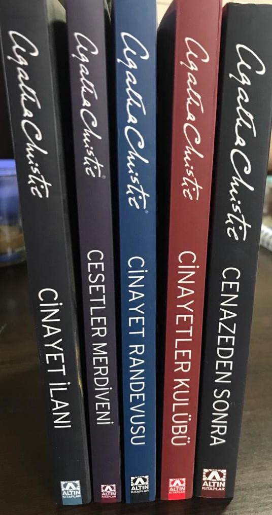 Agatha Christie Seti - 2 (5 Kitap)