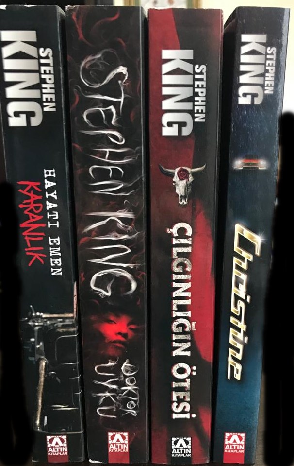 Stephen King Seti 2 (4 Kitap)