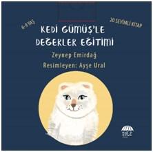 Kedi Gümüşle Değerler Eğitimi (20 Kitap)