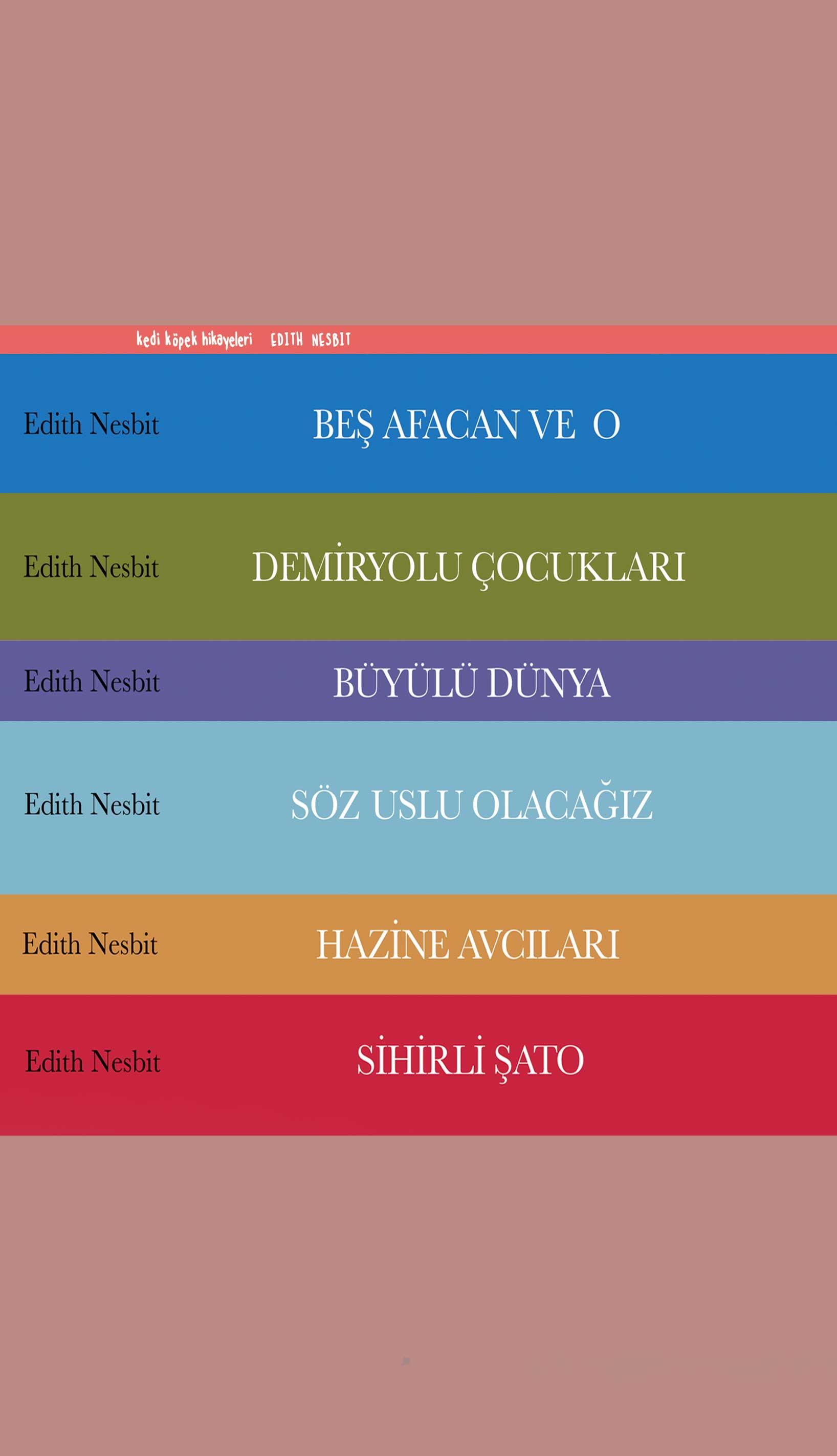 Edith Nesbit Kitapları
