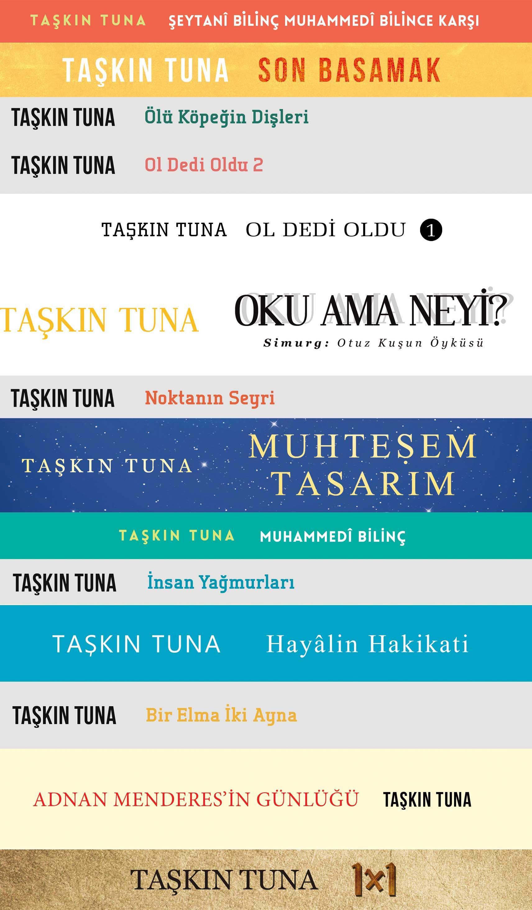 Taşkın Tuna Kitapları