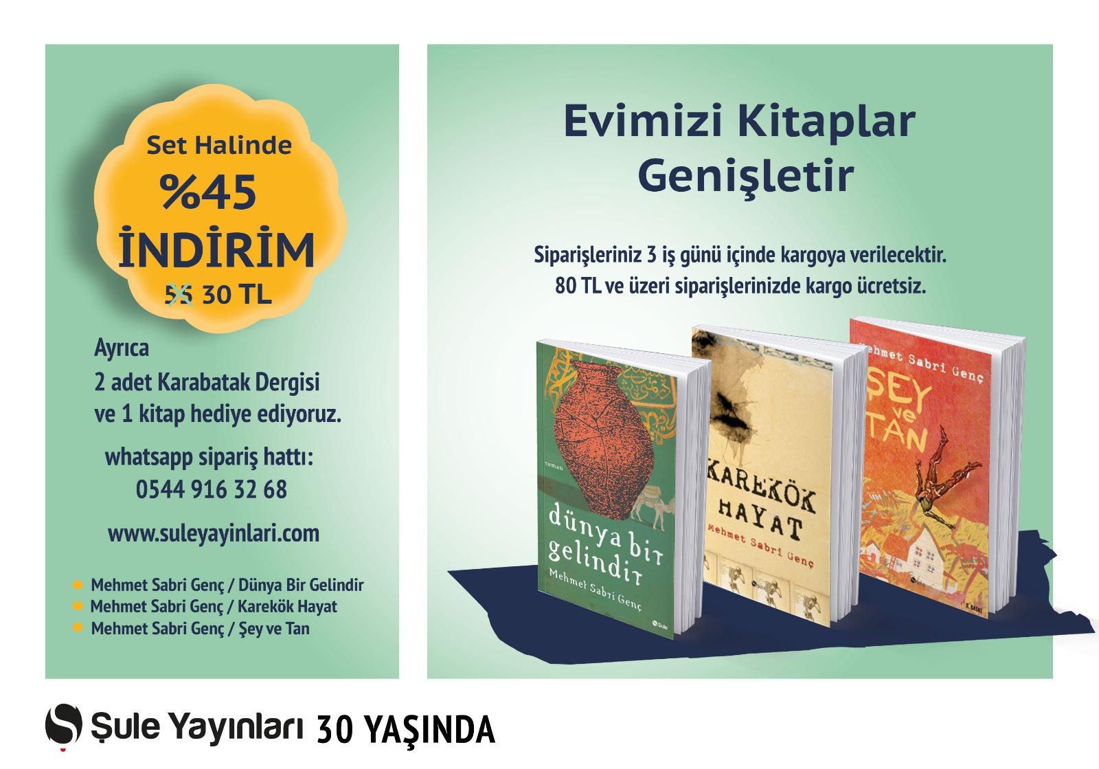 Mehmet Sabri Genç Seti (3 Kitap)