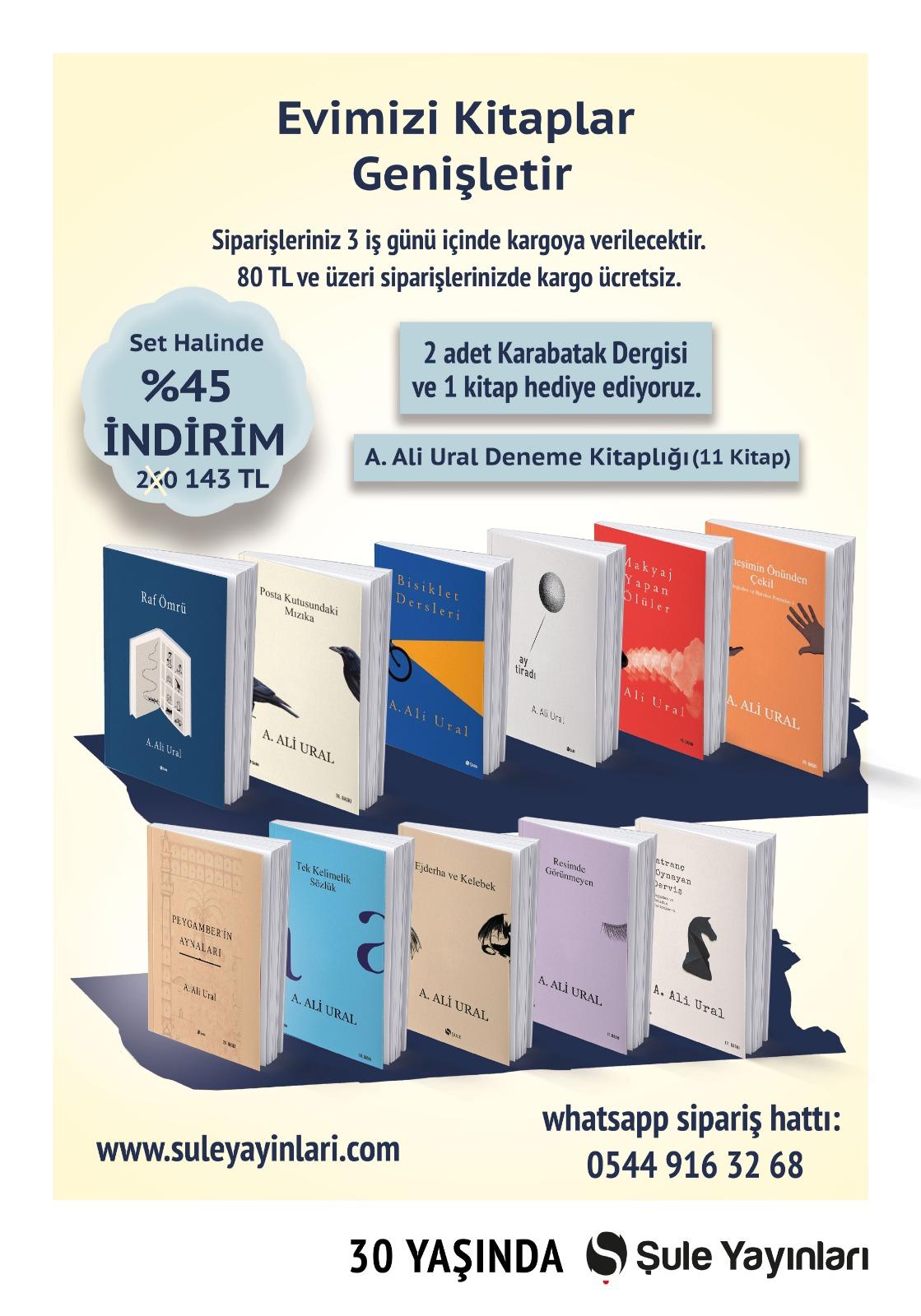 A. Ali Ural Deneme Seti (11 Kitap)