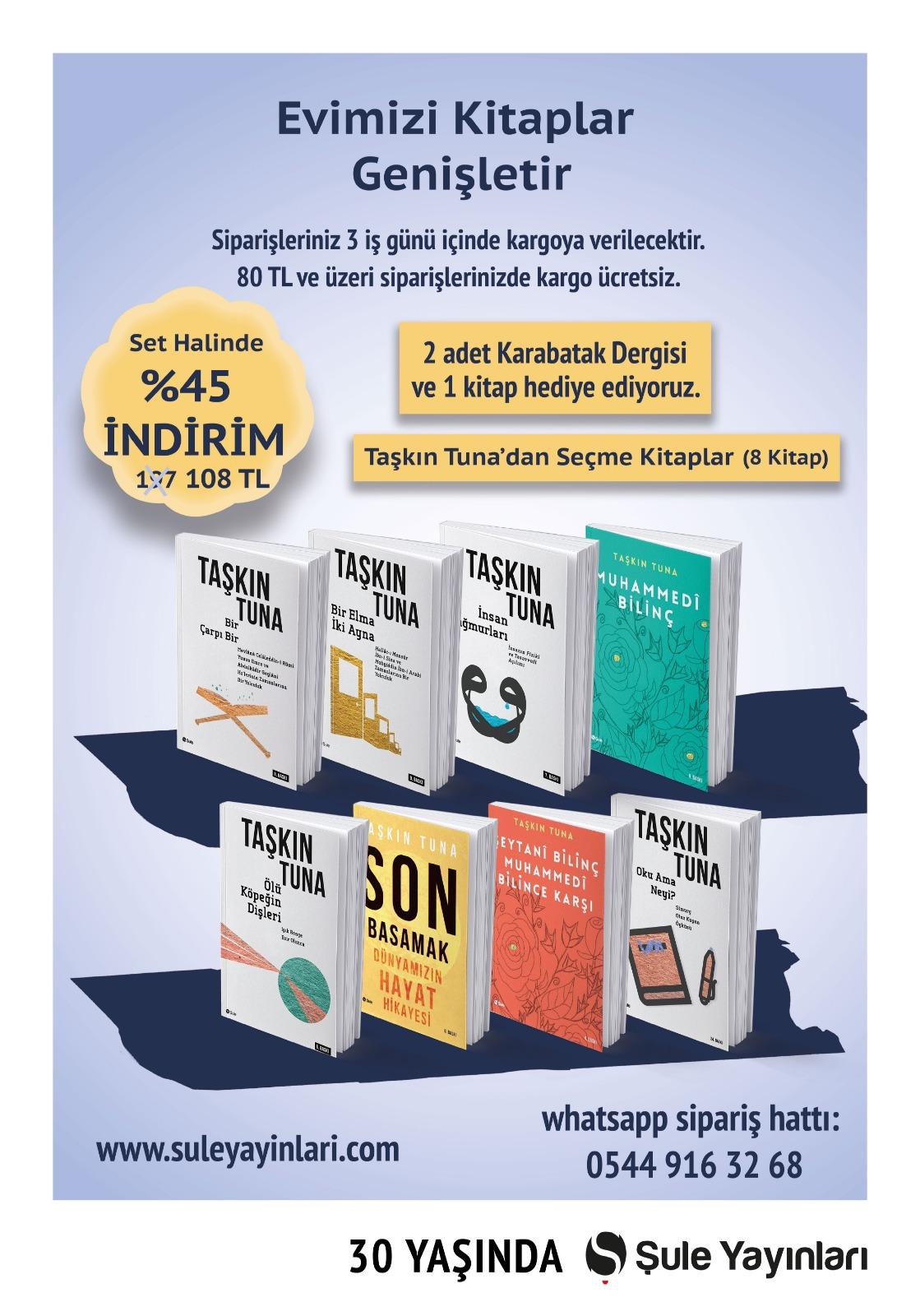 Taşkın Tuna Seçme Kitaplar (8 Kitap)