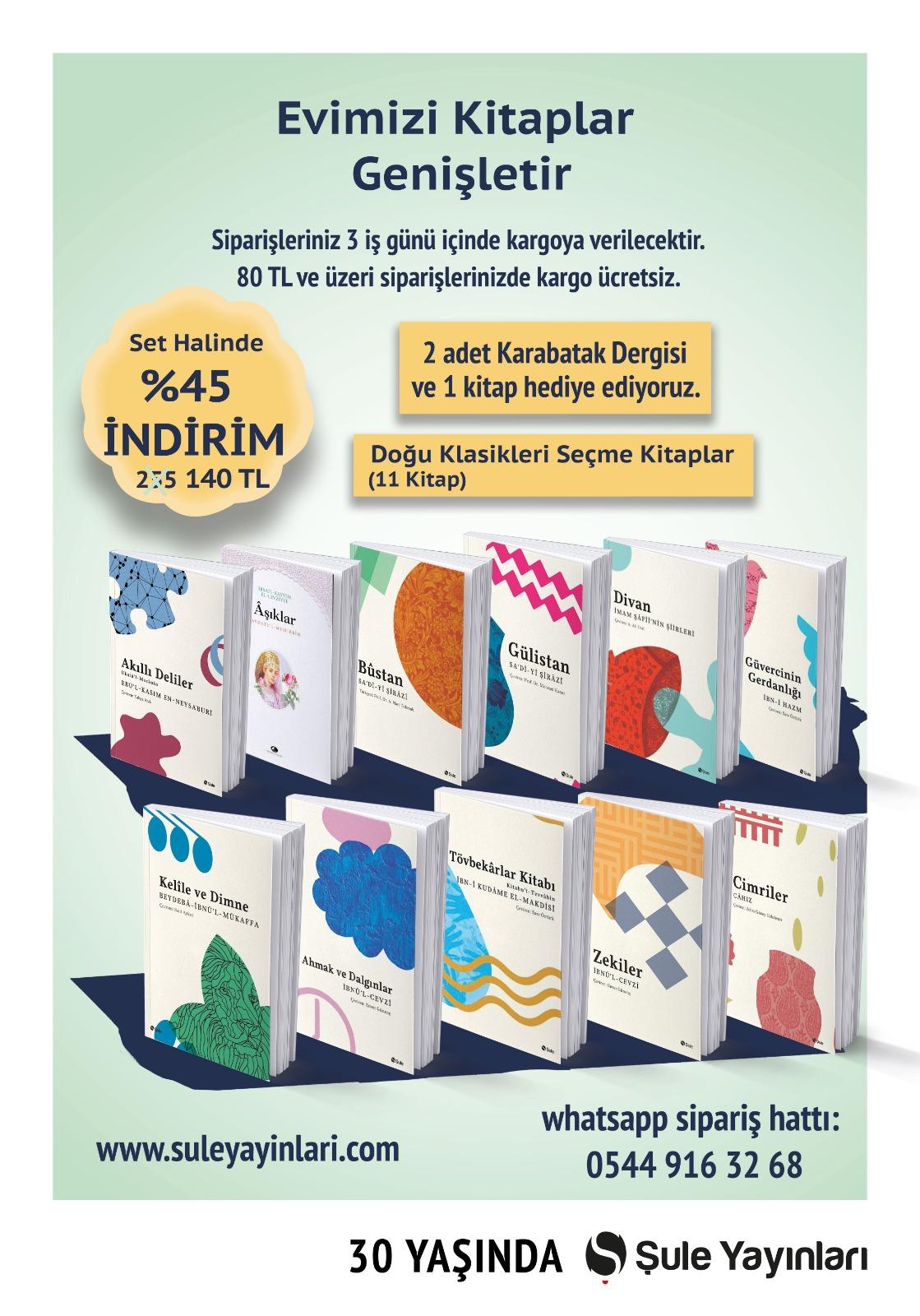 Doğu Klasikleri Seçme Kitaplar (11 Kitap)