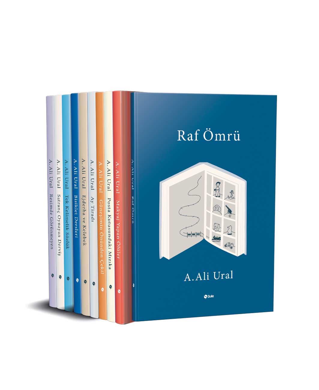 Ali Ural Deneme Seti - 10 Kitap