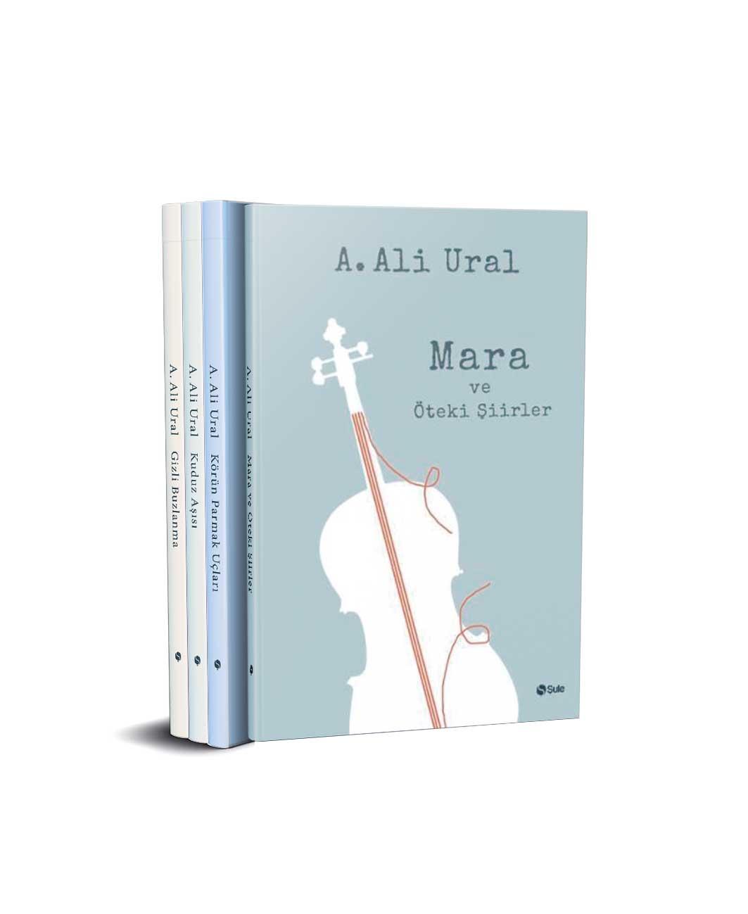 Ali Ural Şiir Seti - 4 Kitap