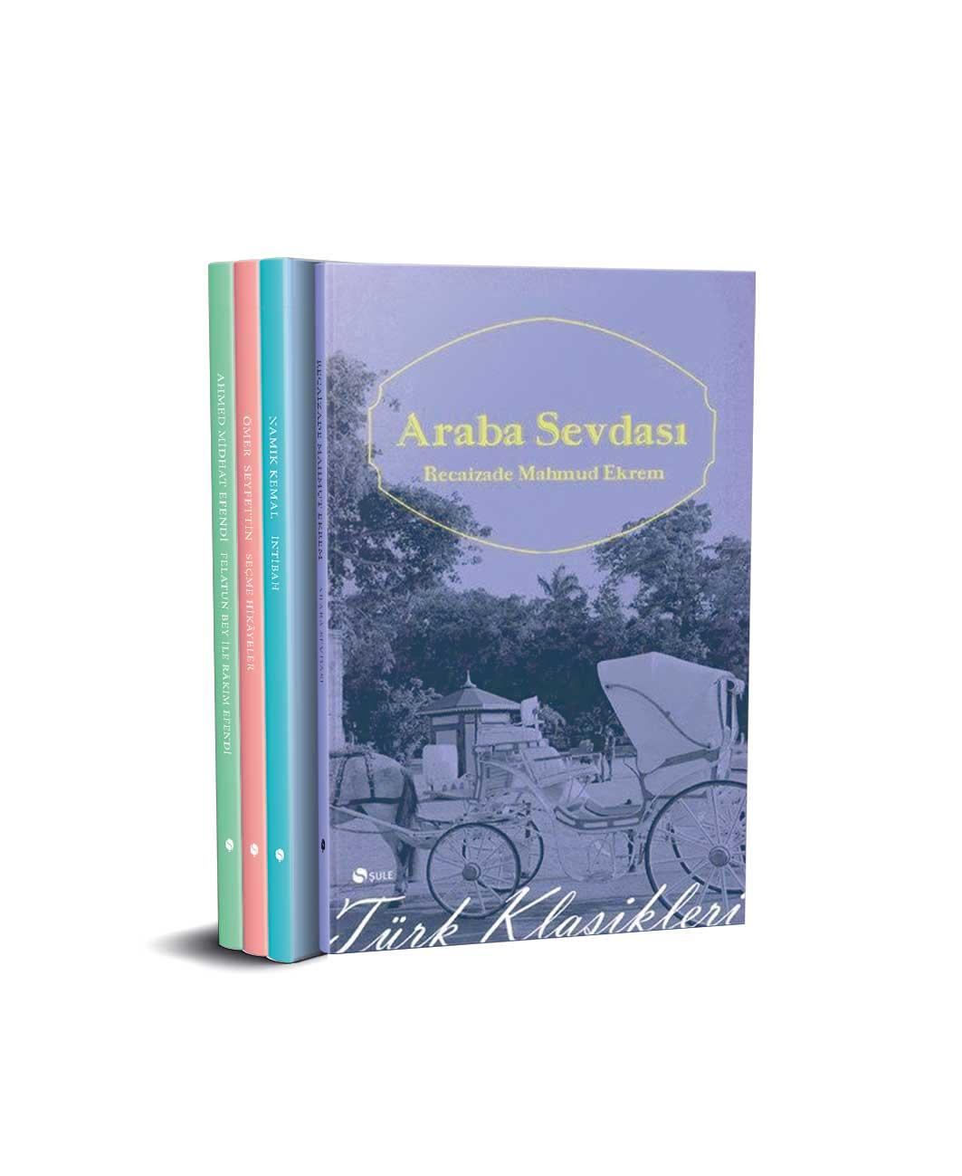 Türk Klasikleri Seti - 4 Kitap