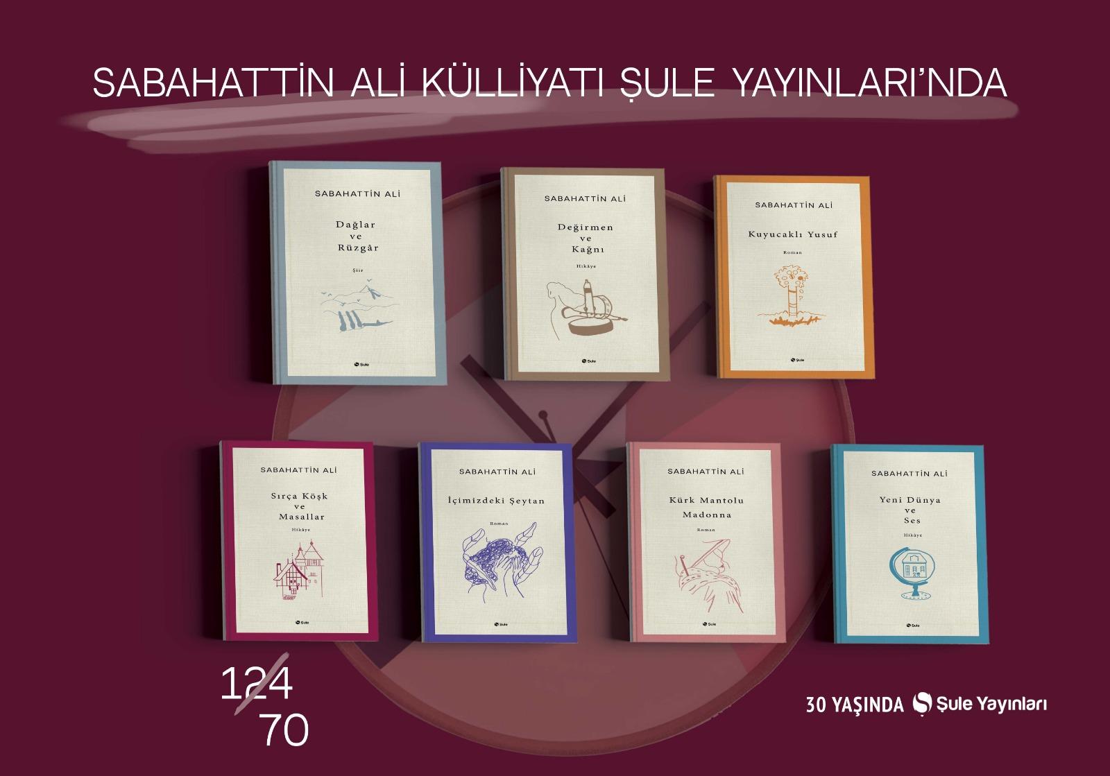 Sabahattin Ali Külliyatı (7 Kitap)